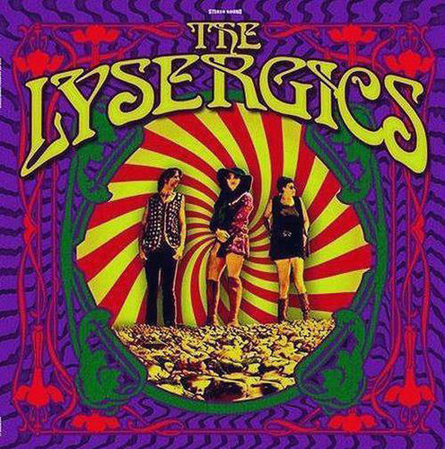 "THE LYSERGICS ""same"" LP coloured"