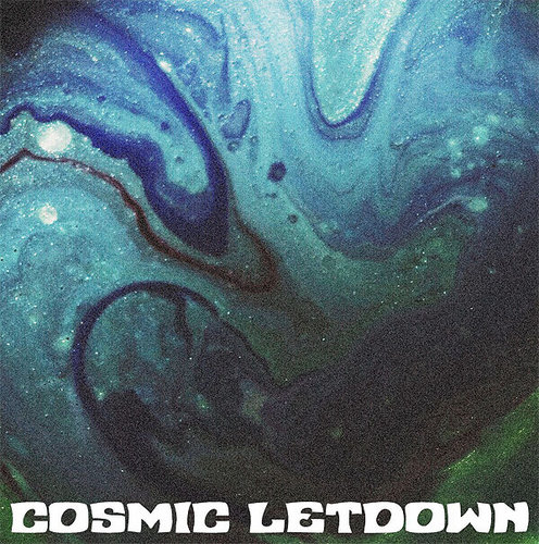 "COSMIC LETDOWN ""Venera"" LP blue"