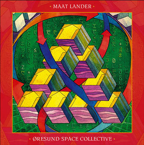 MAAT LANDER / ORESUND SPACE COLLECTIVE Split LP coloured