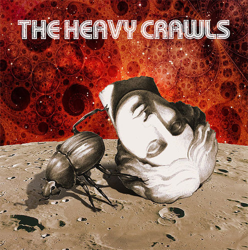 THE HEAVY CRAWLS s/t  LP coloured