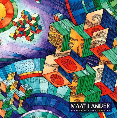 "MAAT LANDER ""Seasons of Space - book #1"" LP coloured"