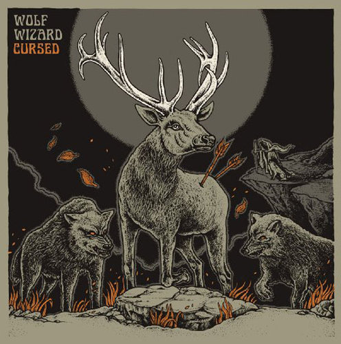 "WOLF WIZARD ""cursed"" LP coloured"