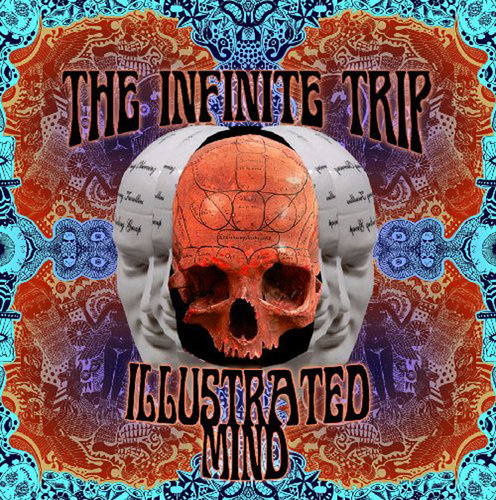"THE INFINITE TRIP ""Illustrated Mind"" LP coloured"