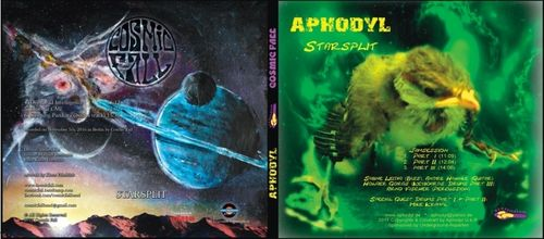 COSMIC FALL / APHODYL Starsplit CD