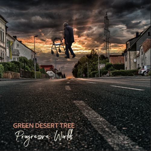 "GREEN DESERT TREE ""Progressive Worlds"" DLP black"